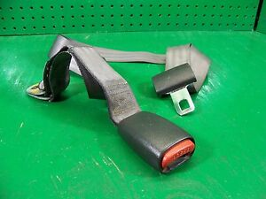 Lf Side Rear Seat Lap Belt And Buckle 98 Dakota Gray Pickup Club Cab 55314779