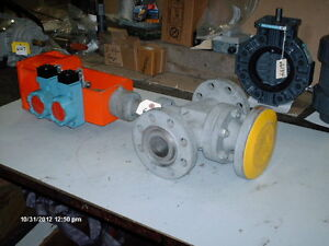 Kammer 3 way Valve 2 300 Rtj Flange 510 Psig W bettis Act Bellows Seal new