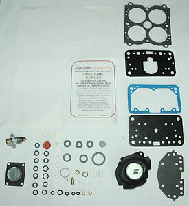 1973 Carb Kit International Harvester 392 Engine 4 Barrel Holley 6444 6777
