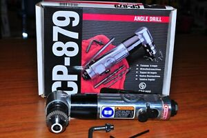 Chicago Pneumatic cp 879 3 8 Reversible Angle Air Drill 1 800rpm Brand New