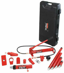 Blackhawk Automotive Porto Power B65115 10 Tons Red Auto Repair Ram Kits