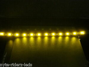Yellow Add On 12 5050 Smd Led Strip Fits All Cars Motorcycles Trucks Suvs