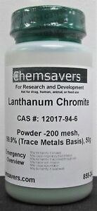 Lanthanum Chromite Powder 200 Mesh 99 9 trace Metals Basis 50g
