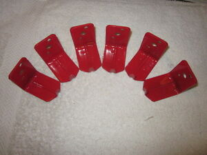 Lot Of 6 universal Wall Mount 10 15 20 Lb Size Fire Extinguisher Bracket New