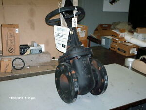 Crane Os y Gate Valve P n 465 5 040 4 Iron Body Bronze Trim 200 Wog new