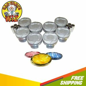 Pistons And Rings Fits 08 13 Dodge Chrysler Jeep 4 7l V8 Vin N w o H o