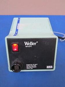 Weller Wtcpt P n Pu120t Power Unit 60w 120v 60hz Soldering Station