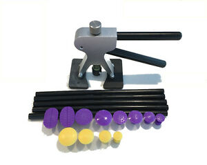 Paintless Dent Repair Tools Pdr Puller With 12 Puller Tabs And 5 Glue Sticks