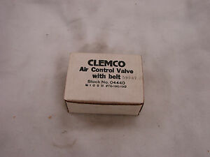 Clemco Air Control Valve With Belt 04440 new Em