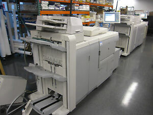 Canon Imagerunner 7095 Copier Printer W Side Paper Deck Booklet Maker Puncher