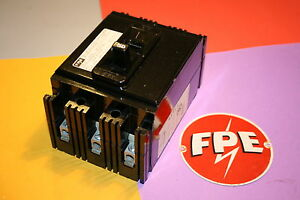Federal Pacific 3 Pole 50 Amp Breaker Ne231050 Type Ne