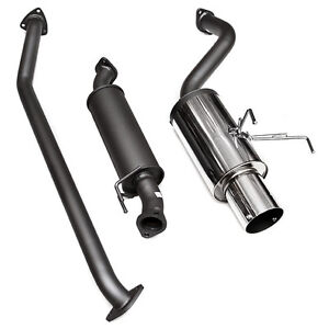 Hks Racing 2002 2004 Acura Rsx Base 2 0l K20a3 Hi Power Catback Exhaust System