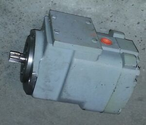 Athey Mobil Ra730 Street Sweeper Blower Motor Oil Gear Pump 15z As 8758 New