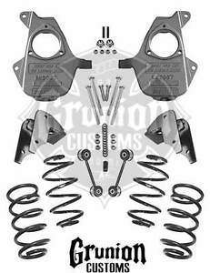 Chevy Tahoe 2007 2013 3 5 Lowering Kit Mcgaughys 17 Or Larger Wheels