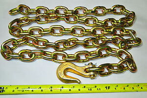 Mo Clamp 6008 3 8 X 8 Chain W grab Hook Moclamp Made In Usa