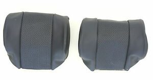 New Jaguar Xke E Type S2 S3 Leather Head Rest Cover To Original Specification