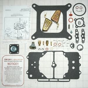 1958 69 Carburetor Kit With New Floats Ford Mustang Motorcraft 4100 4 Barrel New