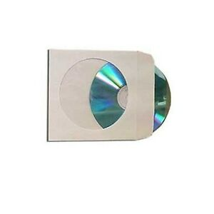 6000 Paper Cd Dvd R Cdr Sleeve Window Flap Envelope New