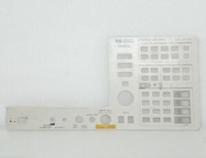 Hp agilent 8592l Front Panel 9khz 26 5ghz
