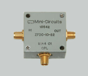 Mini circuits Zfdc 10 22 Directional Coupler