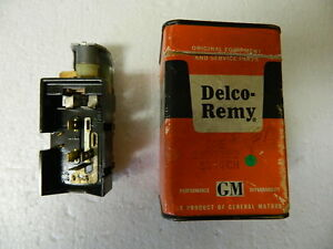 Nos Delco Head Lamp Switch Olds F85 1961 63 Chevy Gm Truck Hd 1964 Gm 1995102