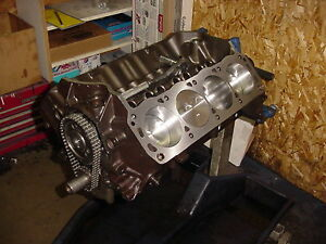 Ford 302 Based Stroker Short Block 374cid Forged Internals Giant Blower 5 0