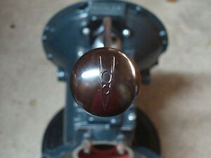 Ford Flathead Transmission 1937 38 Gear Shift Lever Knob W V8 Logo Shifter