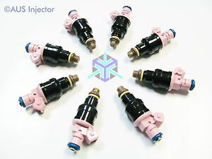 Set Of 8 Bosch Ev1 Ford Chevrolet Dodge 95 Lbs High Flow Racing Injectors
