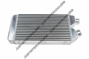 Cxracing Universal 25x11x3 1 Side 2 5 Inlet Outlet Turbo Intercooler