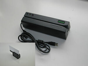 Msr605 Magnetic Swipe Card Reader Writer Encoder minidx3 Portable Card Reader