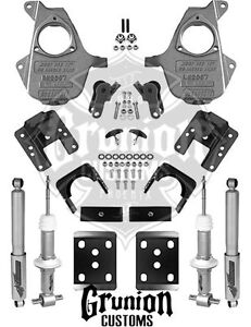 Mcgaughys 3 5 Or 4 6 Lowering Kit 2007 2013 Chevy Silverado Gmc Sierra