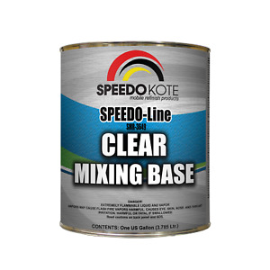 Clear Mixing Base For Use In Automotive Base Coats One Gallon Smr 3649