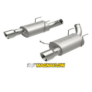 Magnaflow 2013 2014 Ford Mustang Gt 5 0l V8 3 Axle back Exhaust System Ss