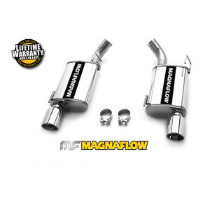 Magnaflow 2005 2009 Ford Mustang Gt 4 6l Gt500 V8 2 5 Axle Back Exhaust System