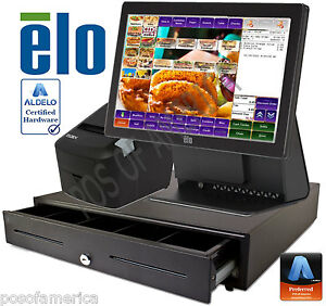 Aldelo pro Elo Burger Grill Restaurant All in one Complete Pos System New