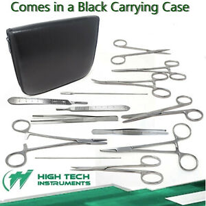 103 Pc Minor Micro Surgery Student Kit Veterinary Surgical Dental Instruments