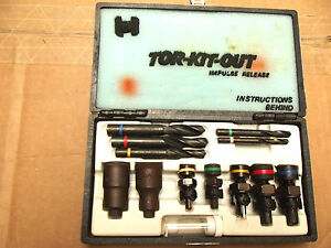 Haben torkit Out Easy Out Broken Bolt Extractor Kit