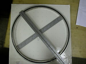 A n High Vacuum 12 Inch Centering Rings Nib P n 810015 Use With Stokes Edwards