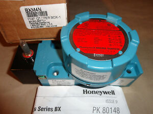 Honeywell Microswitch Bxm4n Explosion Proof Limit Switch New