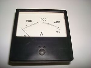 0 750a Dc 1 5 Russian M42300 Ammeter Current Meter Amp Analog Panel Meter