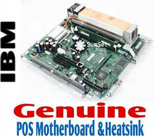 Ibm Surepos 500 Pos 4840 Motherboard Heatsink Assembly 66p2098 66p2099