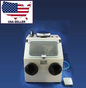Dental Lab Sandblasting Machine Box 026 1 110v Dentq
