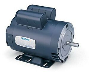 5hp 3450rpm 56h Odp 230v 1ph Leeson Electric Pressure Washer Motor 116709