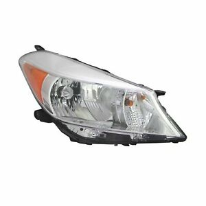 For 2012 2014 Toyota Yaris Hatchback Headlight Head Lamp Passenger Side Rh