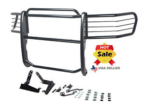 Fits 06 08 Dodge Ram 1500 2500 3500 Brush Grille Grill Guard In Black