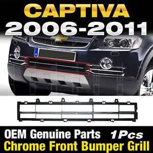 Oem Genuine Parts Chrome Front Bumper Grill 1pcs For Chevy 2006 2011 Captiva