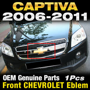 Oem Genuine Parts Front Grill Chevrolet Cross Emblem For Chevy 2006 2011 Captiva