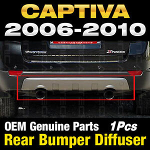 Oem Genuine Parts Rear Bumper Plate Diffuser For Chevy 2006 2011 Captiva
