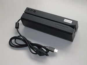 Msr606 Magnetic Stripe Card Reader Writer Encoder Hi lo Co Track 1 2 3 Msr206