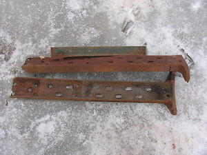 Ih International Farmall Frame Rails H Super H